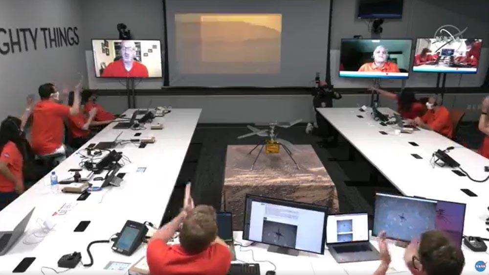 Ingenuity: Πραγματοποιήθηκε για πρώτη φορά πτήση σε άλλον πλανήτη