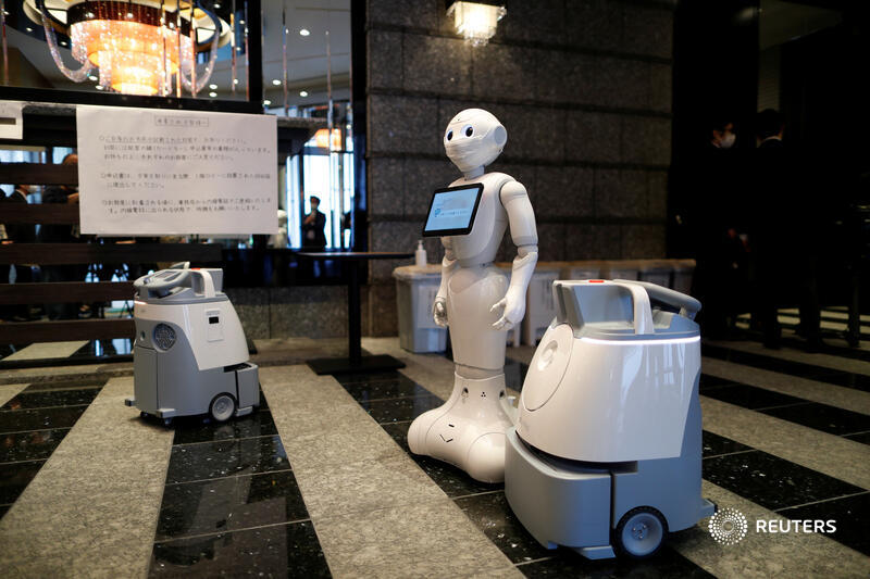 Μάθημα Ρομπότ υποδέχονται ασθενείς με ελαφρά συμπτώματα σε ξενοδοχεία του Τόκιο - Βίντεο