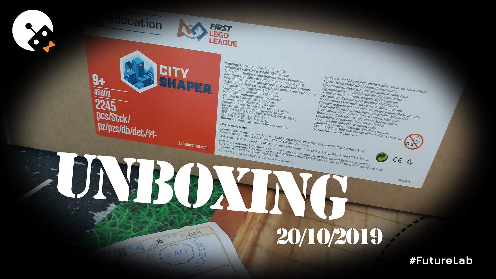 Μάθημα Unboxing της νέας πίστας του FLL City Shaper 2020